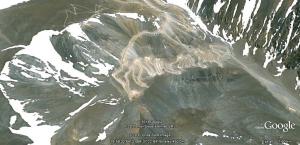 glaciar Coconta