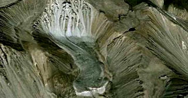 glaciar el algarrobo